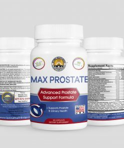 image of max prostate pro bottle