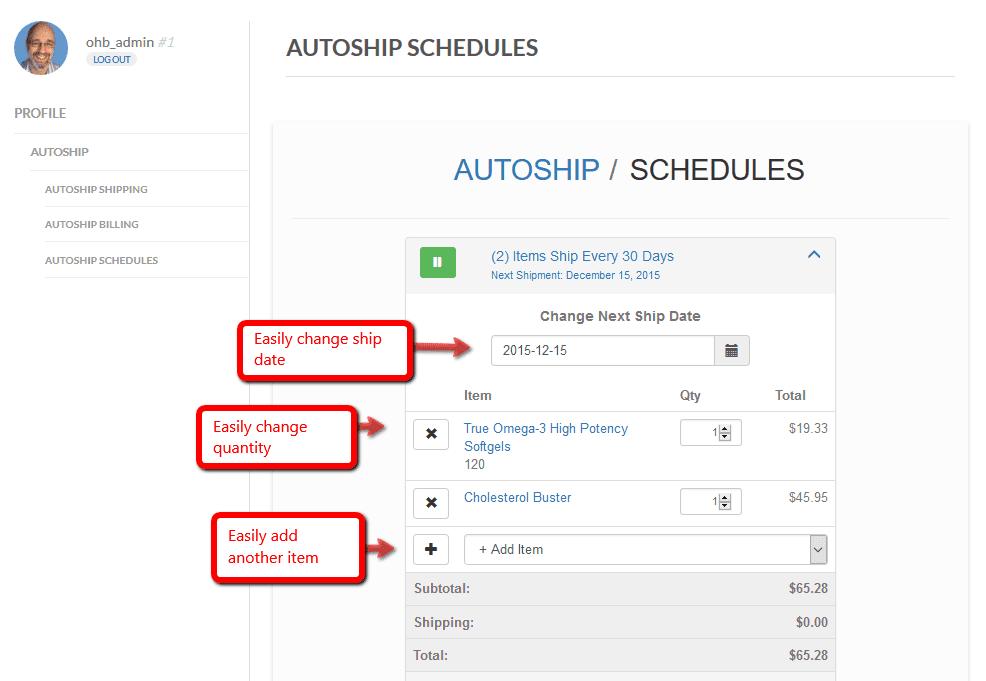 autoship-schedules