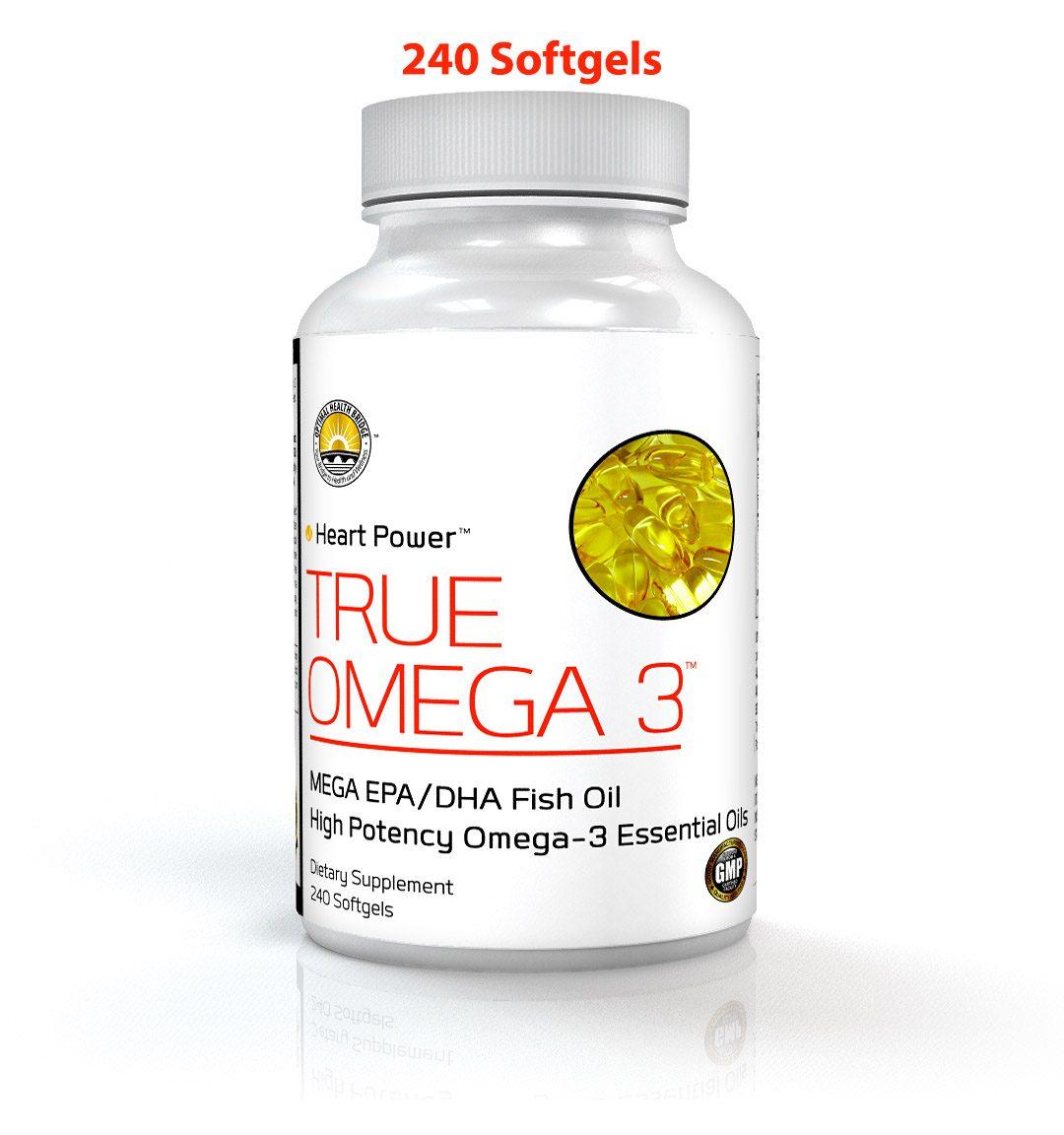 True omega 3 240 optimal health bridge true omega 3 for Fish oil concussion