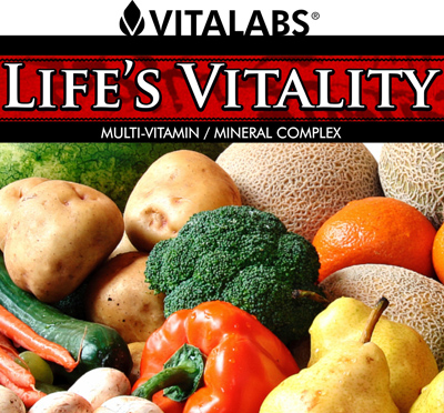 Life's Vitality - True Vitality Green Based Vitamins