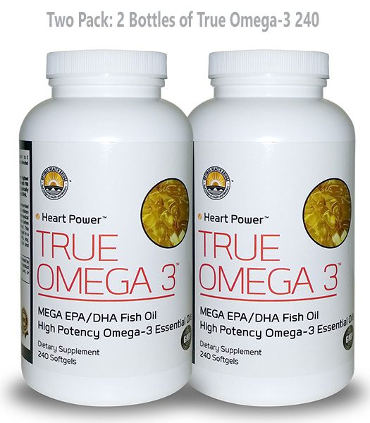 * True Omega-3® Highest Potency of EPA/DHA