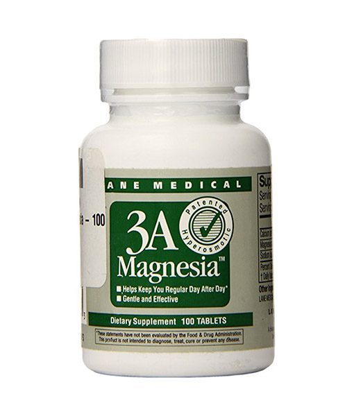 3A Magnesia, Laxative, regularity