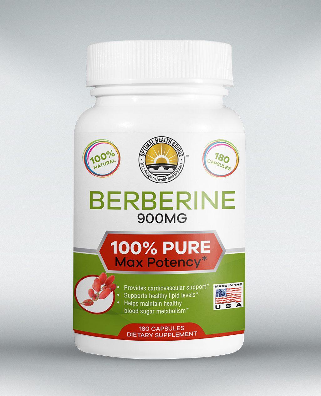 berberine bottle example