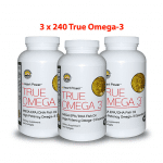 True Omega-3 Three bottles 720 capsules