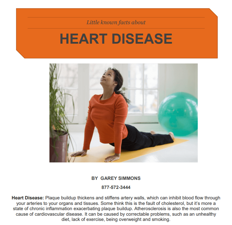 Report on Heart Disease