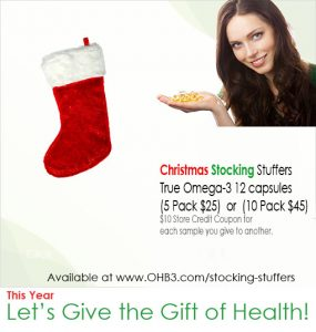gift of health stocking stuffer