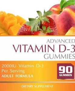 gummies vitamin D3 1000