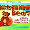 Kids Gummy Bears Multi Vitamin and Mineral formula 90