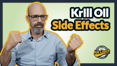 What are krill oil side effects